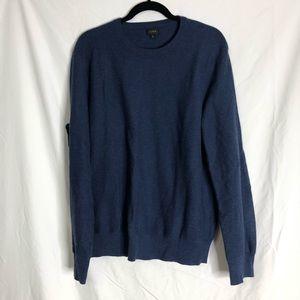 J. Crew Dark Blue Men's Crew Neck Sweater